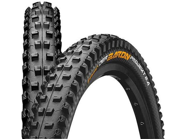"Continental Der Baron 2.4 Projekt Folding Tyre 27,5"" TLR E-25 Apex, black"